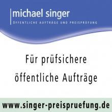 Singer Öffentliche Aufträge und Preisprüfung