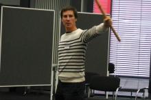 Event-Rhetorik mit Fechtlehrer Arne Schneider