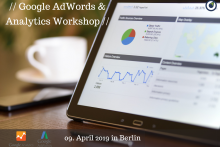 Google AdWords Workshop am 09.04.19