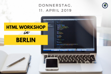 HTML Workshop am 11.04.19