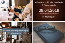 Arbeitsrecht Seminar am 09.04.19