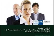 Weiterbildung Personalberatung und Personalvermittlung mit IHK-Zertifikat