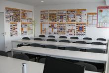 Unterrichtsraum für Gefahrgutschulungen