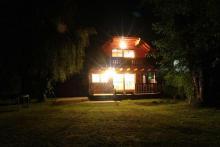 Unser Seminar-Büro-Haus am See mit einem kleinen Seminarraum für ca. 8 Personen