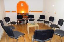 ein stimmungsvoller Seminarraum bietet Platz für kleine Gruppen