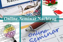 Online-Seminar: Erfolgreiches Nachtragsmanagement