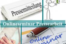 Online-Seminar: Presse- und Öffentlichkeitsarbeit leicht gemacht