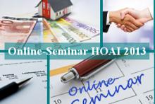 BPM-Online-Seminar-HOAI2013-Architektenvertrag