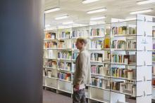Bibliothek am Hauptcampus der Zeppelin Universität