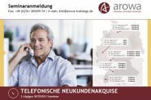 Top Telefonakquiseseminare von arowa