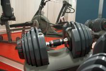 Fitness-Raum im SVI