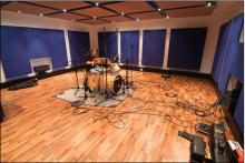 Drum-Recording an der SAE Stuttgart
