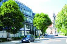 indisoft-Standort Dresden - gut erreichbar