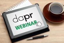 DAPR-Social Media Manager im Webinar + Präsenzveranstaltung