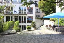Das Vorlesungsgebäude des iba-Studienortes Freiburg