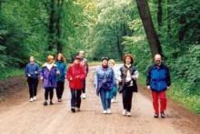 Walking Kurs im Bürgerpark