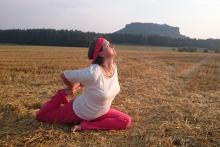Yoga und Dehnung
